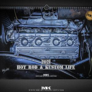 Hot Rod & Kustom Life 2021 Calendar